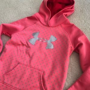 Under Armor Youth Coral Hoodie